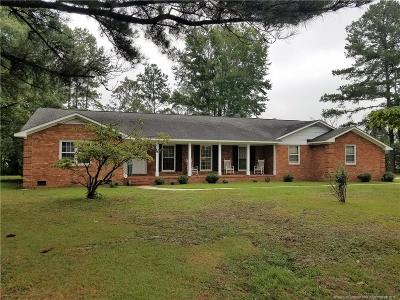 Parkton Single Family Home For Sale: 137 W Green Springs Road