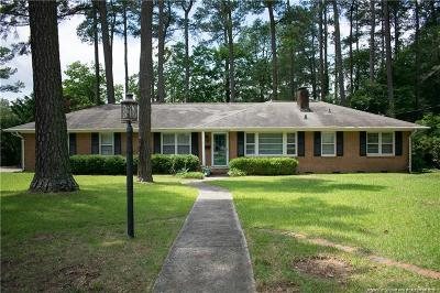 Fayetteville Single Family Home For Sale: 722 Emeline Avenue
