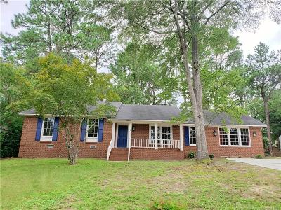 Fayetteville Single Family Home For Sale: 2306 Rolling Hill Road