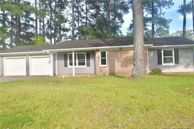 Fayetteville Single Family Home For Sale: 3300 Rhodhiss Court