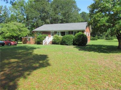Eastover Single Family Home For Sale: 2453 Dunn Road