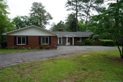 Whispering Pines Single Family Home For Sale: 4 Dixie Drive