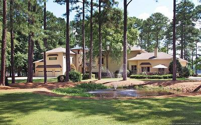 Whispering Pines Single Family Home For Sale: 100 Lakeshore Drive