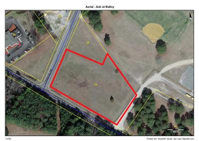 Wayne County Residential Lots & Land For Sale: Ash Street At Malloy Street - Corner