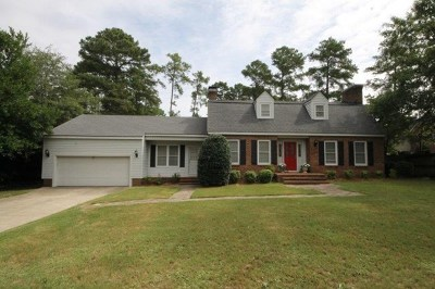 Goldsboro Single Family Home For Sale: 302 Cashwell Drive