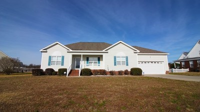 Goldsboro NC Single Family Home For Sale: $172,500