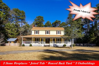 Goldsboro Single Family Home For Sale: 150 Quail Croft Dr