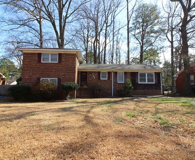 Goldsboro Single Family Home For Sale: 706 S Taylor St
