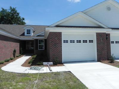 Goldsboro Townhouse For Sale: 110 Chafin Place