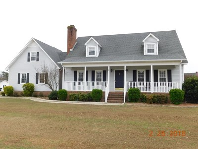 Goldsboro Single Family Home For Sale: 102 Mint Drive