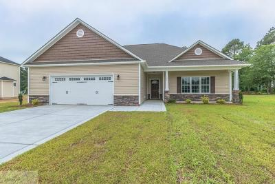 Goldsboro Single Family Home For Sale: 126 Quail Hollow Dr