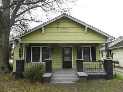 Goldsboro Single Family Home For Sale: 715 S Slocumb