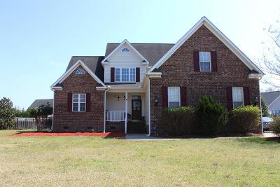 Goldsboro Single Family Home For Sale: 517 Morgan Trace
