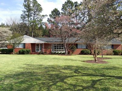Goldsboro Single Family Home For Sale: 108 S Claiborne St
