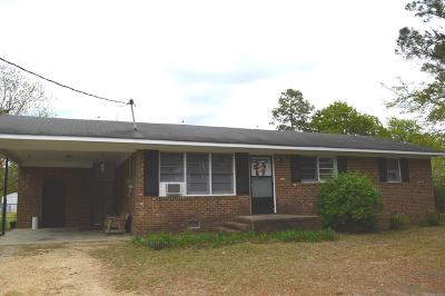 Goldsboro Single Family Home For Sale: 1514 Old Grantham Rd