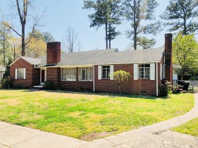 Goldsboro Single Family Home For Sale: 1506 E Beech Street