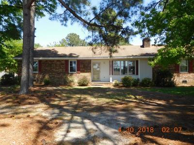 Goldsboro Single Family Home For Sale: 282 Riverbend Rd N