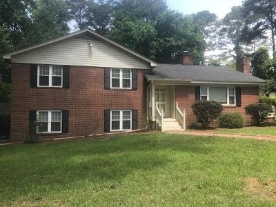 Goldsboro Single Family Home For Sale: 215 S Spence Avenue