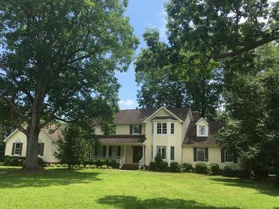 Single Family Home For Sale: 1912 N Nc 111 N Hwy