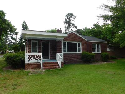Goldsboro Single Family Home For Sale: 1501 E Holly St