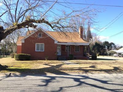 Goldsboro Single Family Home For Sale: 301 S Leslie St