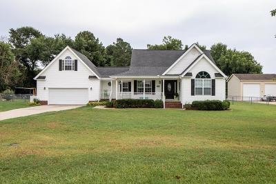 Goldsboro Single Family Home For Sale: 106 Moss Hill Drive