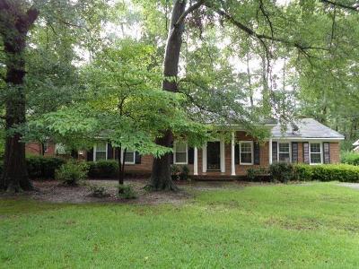 Goldsboro Single Family Home For Sale: 706 S Claiborne Street