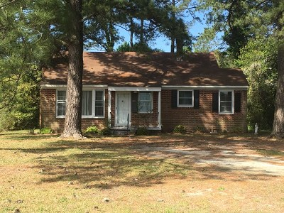 Goldsboro Single Family Home For Sale: 1615 E Holly Street