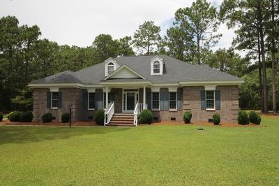 Goldsboro Single Family Home For Sale: 924 Lake Wackena Road