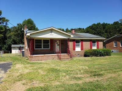 Goldsboro Single Family Home For Sale: 1911 Elton Dr