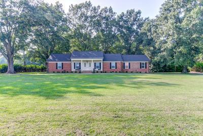 Johnston County Single Family Home For Sale: 1633 Live Oak Church Road