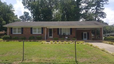 Goldsboro Single Family Home For Sale: 1800 Saxon St