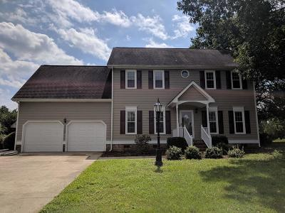 Wayne County Single Family Home For Sale: 120 Trey Drive
