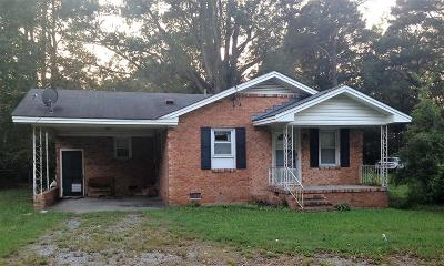 Goldsboro Single Family Home For Sale: 3167 N Hwy. 117