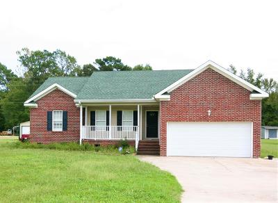 Goldsboro Single Family Home For Sale: 3600 Salem Church Rd