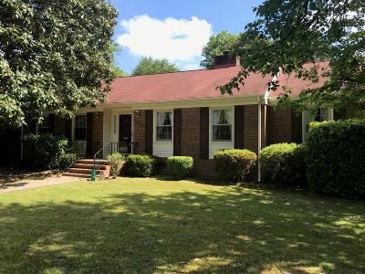 Goldsboro Single Family Home For Sale: 2505 Dawn Circle