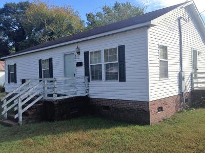 Goldsboro Manufactured Home For Sale: 702 Slaughter St.