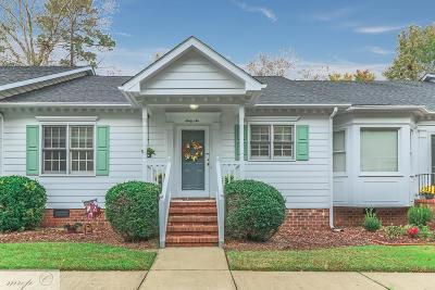 Goldsboro Townhouse For Sale: 3102 Cashwell Dr Unit 66