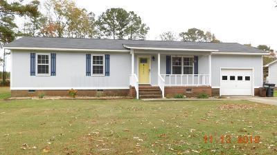 Goldsboro Single Family Home For Sale: 1340 Mark Edwards Road