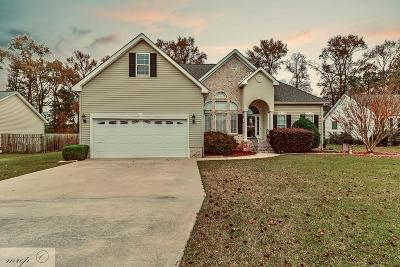 Goldsboro Single Family Home For Sale: 205 Lane Ridge