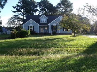 Goldsboro Single Family Home For Sale: 121 Woods Mill Rd