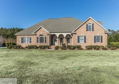 Goldsboro Single Family Home For Sale: 107 Twin Oaks Place