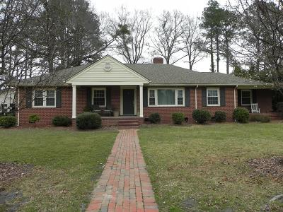 Goldsboro Single Family Home For Sale: 1805 E Mulberry