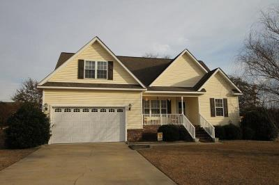 Goldsboro Single Family Home For Sale: 102 Osprey Place