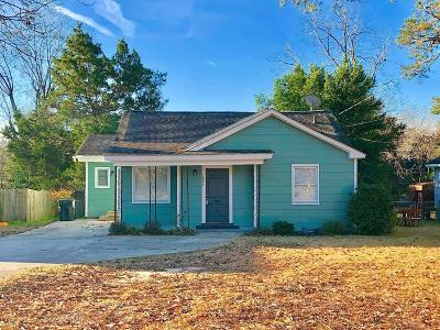 Goldsboro Single Family Home For Sale: 1806 Palm