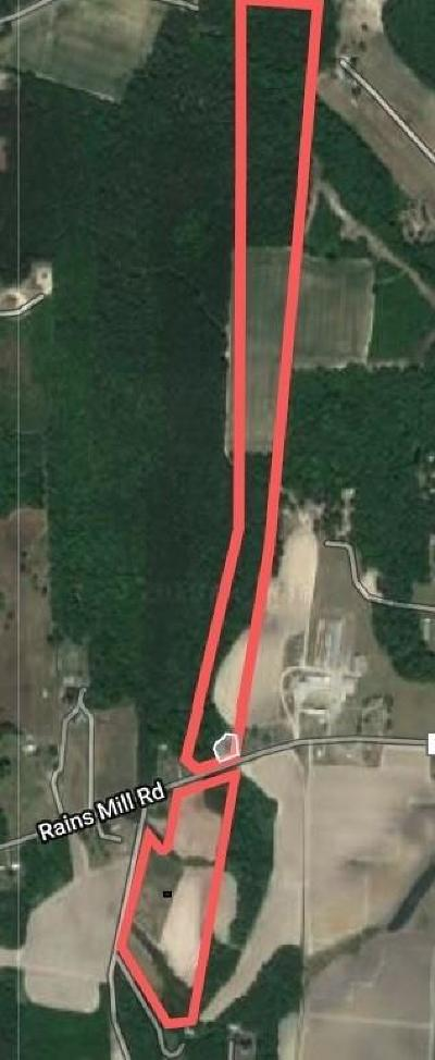 Princeton Residential Lots & Land For Sale: 2174 Rains Mill Road