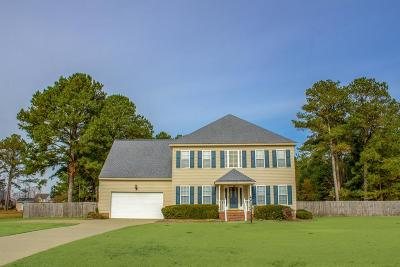 Goldsboro Single Family Home For Sale: 110 W Raintree Ln.