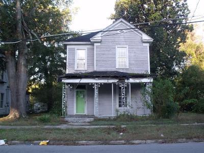 Goldsboro Single Family Home For Sale: 207 N Carolina St