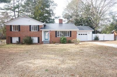 Goldsboro Single Family Home For Sale: 1809 N Friendly Road