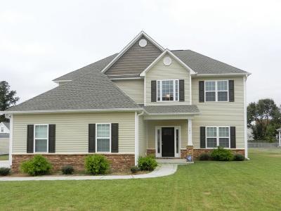 Goldsboro Single Family Home For Sale: 585 Buck Swamp Road